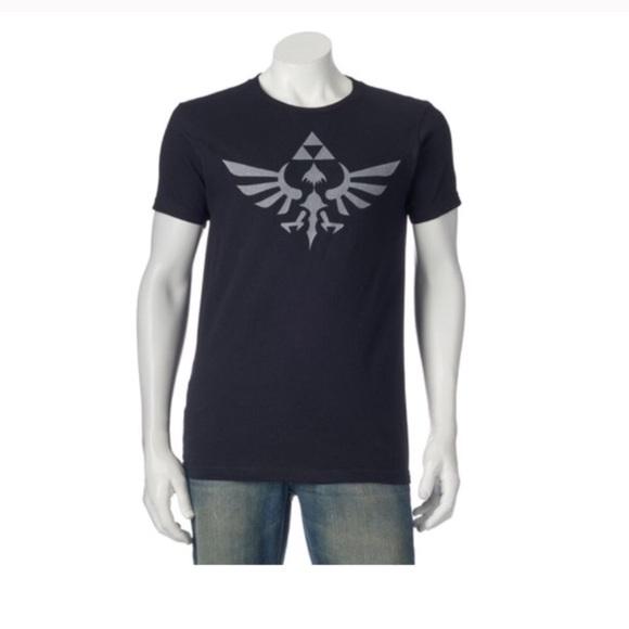 d8a6987dd Nintendo Shirts | Mens The Legend Of Zelda Sky Work Triforce Tee ...